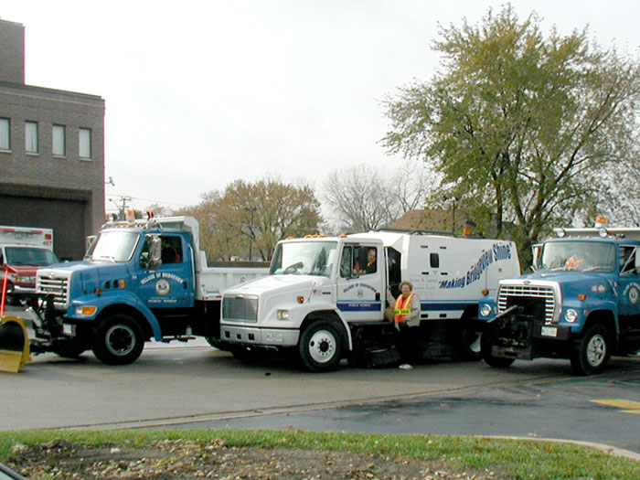 Some of the Public Truck Fleet