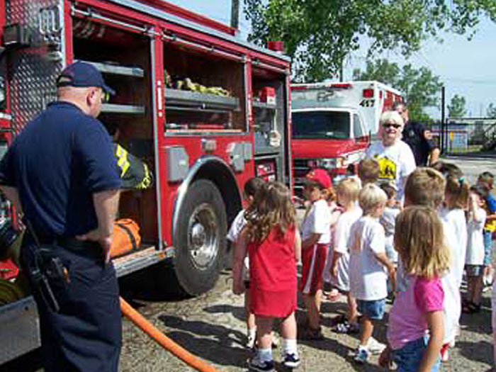 Fire House Safety Field Trip