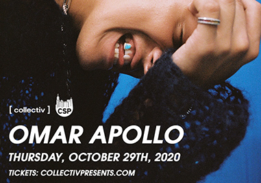 Omar Apollo Oct 29